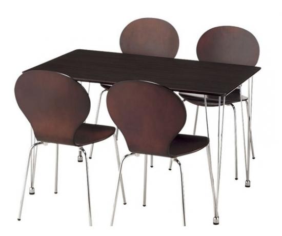 Bộ bàn ăn 4 ghế Lyon BR
