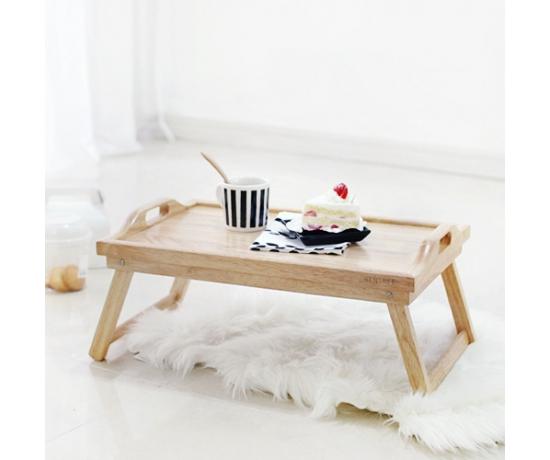 Bàn xếp Rubber Bed Tray