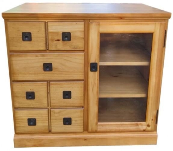 Tủ chest 3 hộc kéo pinewood (hết hàng)