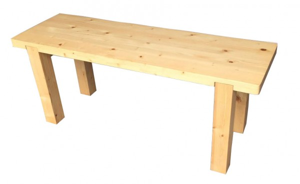 Ghế băng dài wooden pine