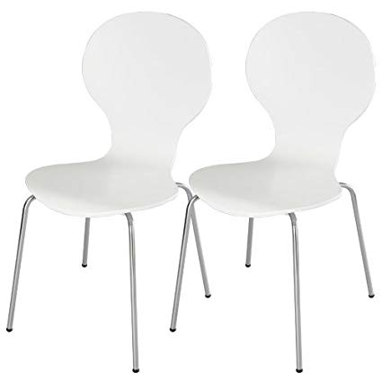 Ghế gỗ uốn Lyon white