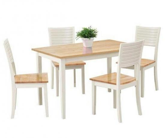 Bộ bàn ăn 4 ghế Colin