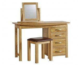 Bàn trang điểm Wales Oak Dressing Table