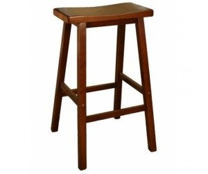 Ghế quầy bar gỗ tự nhiên 29 inch (Hết hàng)