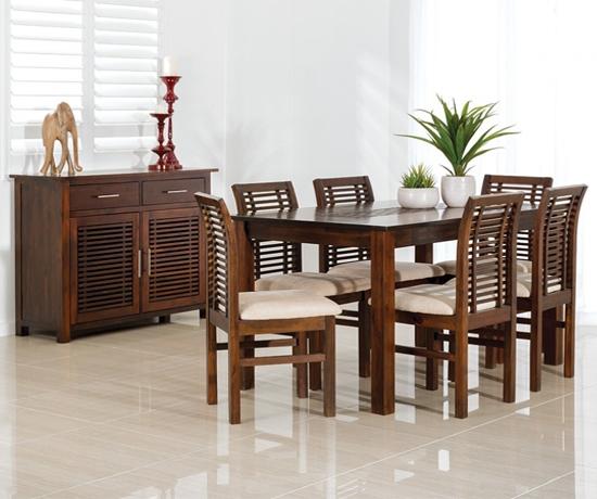 Bộ bàn ăn 6 ghế Madang Dining