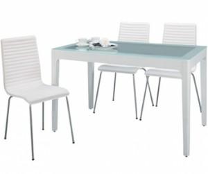 Bộ bàn ăn Frost ghế PVC
