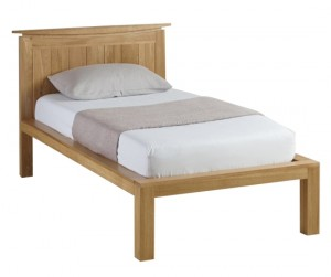 Wales Oak Single Bed