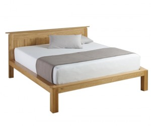 Wales Oak King Bed