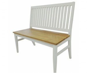 Ghế băng dài white / Oak
