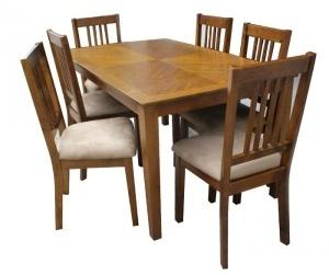 Bộ bàn ăn 6 ghế Mission