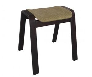 Ghế gỗ nệm fabric Vecteur green