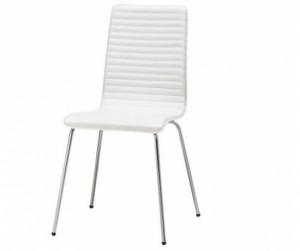 Ghế gỗ uốn PVC White
