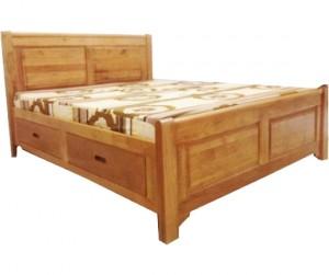 Giường đôi 1m8 hộc kéo Kichi
