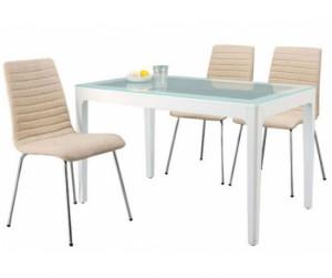 Bộ bàn 4 ghế nệm vải Maastricht