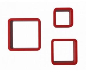 Bộ kệ 3 ô vuông