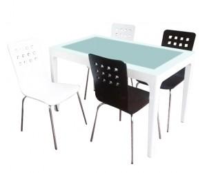Bộ bàn ăn Frost - ghế Square