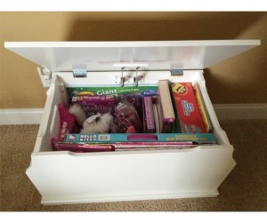 Babies Toy Box White