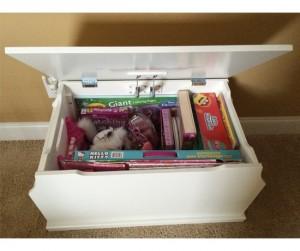 Rương đựng đồ Babies Toy Box White