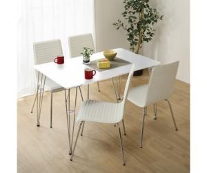 Bộ bàn ăn 1.2m Poly PVC