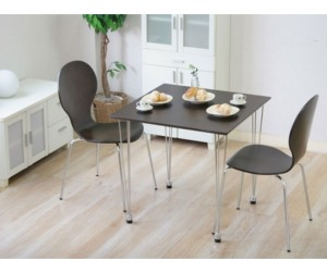 Bộ bàn 2 ghế gỗ uốn Lyon DBR