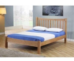 Giường ngủ nan gỗ sồi Milan 1m8