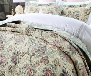Bộ chăn drap Flower B087