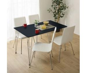 Bộ bàn ăn 4 ghế Poly PVC