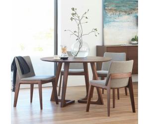 Bộ bàn ăn 4 ghế Teak