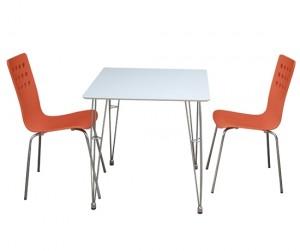 Bộ bàn ăn Square Orange