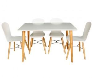 Bộ bàn ăn 4 ghế Leon (Kho Hà Nội)