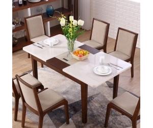 Bộ bàn  thông minh 4 ghế gồm bếp từ.