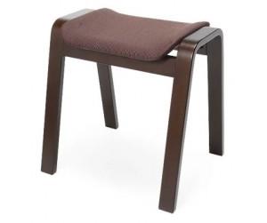 Ghế gỗ nệm fabric Vecteur Brown